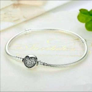 New 925-Charm Bracelet fit Original Pandora Charm